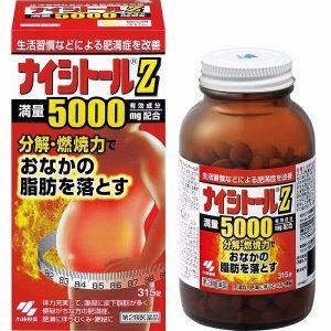 Thuốc Giảm Cân Naishitoru Z5000 Không Gây Tác Dụng Phụ