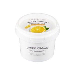 Mặt Nạ Sữa Chua Nature Republic Greek Yogurt Pack - Orange (Cam tươi)