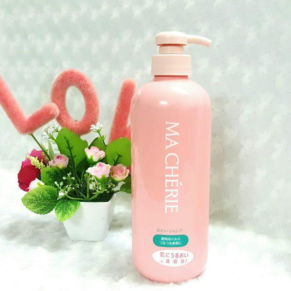 Sữa Tắm Shiseido MaCherie Giúp Trắng Da