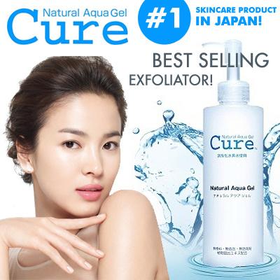 Tẩy trang cure nautural aquagel