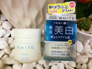 Kem dưỡng da Kose Moisture Mild White