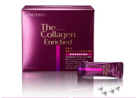 Collagen Enriched Shiseido ( dạng viên )