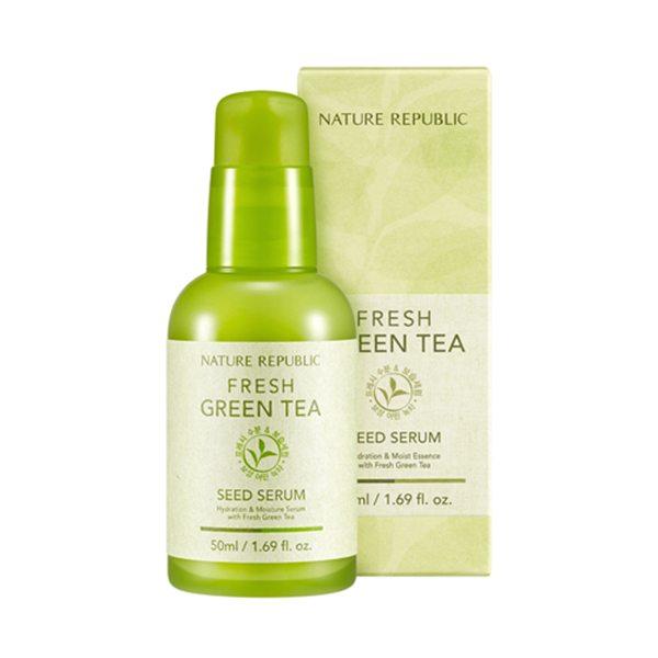 Tinh Chất Dưỡng Nature Republic Fresh Green Tea Seed