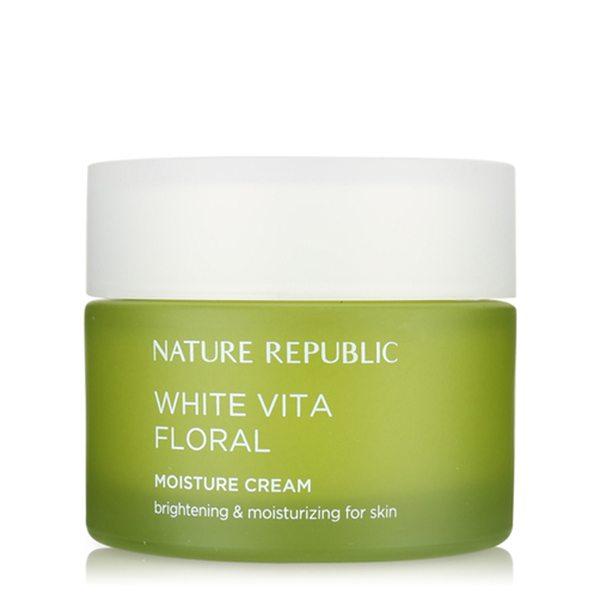Kem Dưỡng Ẩm Trắng Da Nature Republic White Vita Floral Moisture Cream