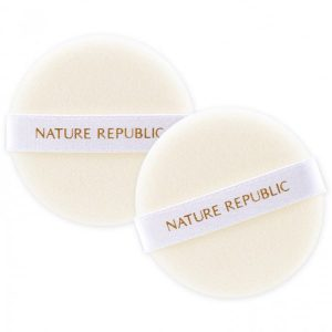 Bông Phấn Trang Điểm Nature Republic Beauty Tool Soft-Touch Flocked Puff (2 Miếng)
