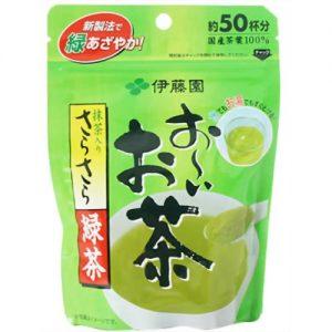 Bột trà xanh đắp mặt nạ nhật bản