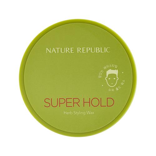 Sáp Tạo Kiểu Tóc Siêu Giữ Nếp Nature Republic Super Hold Herb Styling Wax