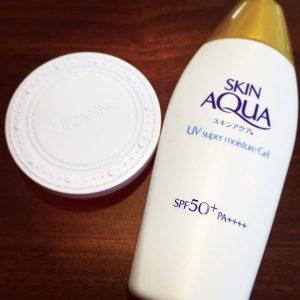 Kem chống nắng Skin aqua cho Da Mụn Da Dầu của Nhật