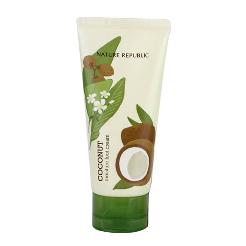 Kem Dưỡng Chân Foot & Nature Coconut Moisture Foot Cream
