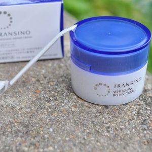 Kem đặc trị nám tàn nhang ban đêm Transino Whitening Repair Cream