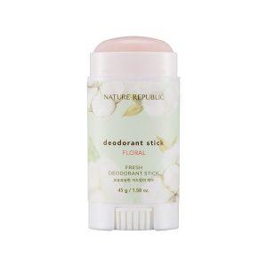 Lăn khử mùi hương hoa Nature Republic Fresh Deodorant Stick Floral