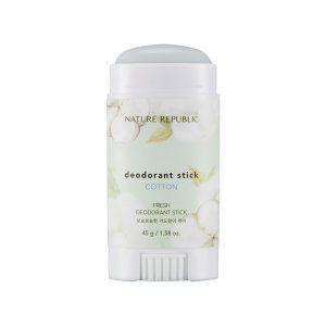 Lăn khử mùi hương hoa Nature Republic Fresh Deodorant Cotton
