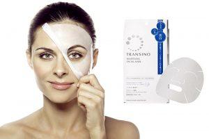 Mặt nạ trị nám của nhật Transino Whitening Facial Mask