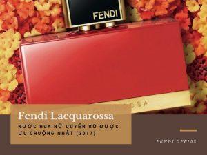 Thương hiệu Nước hoa Fendi đã tung ra mẫu nước hoa nhẹ nhàng nữ tính L'Acquarossa vào tháng 9 năm 2013