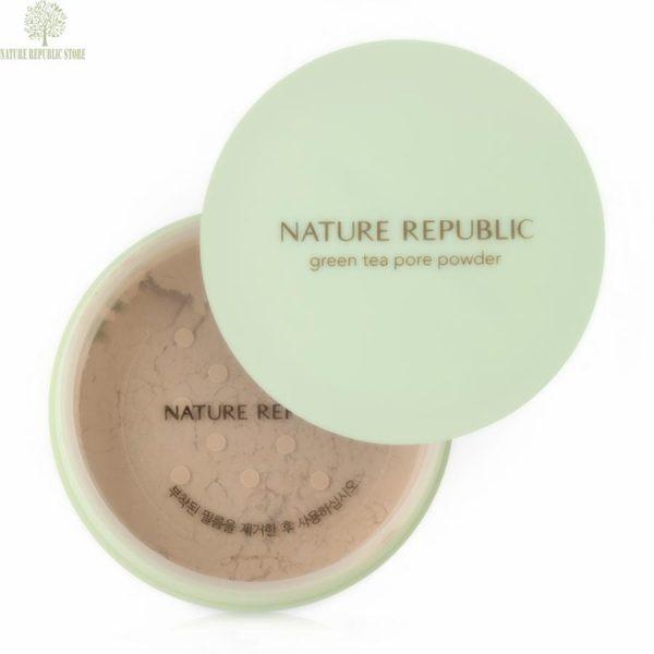 PHẤN PHỦ NATURE REPUBLIC BONTANICAL GREEN TEA PORE POWDER
