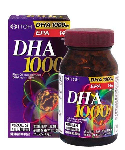 Thuốc Bổ Não DHA 1000mg & EPA Nhật Bản