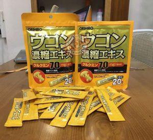 bột nghệ giải rượu Ukon Nhật Bản