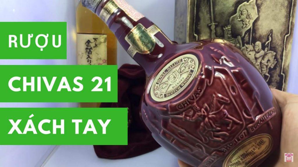 Rượu Chivas 21 xách tay