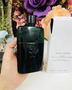 Nước hoa nam Gucci Guilty Black Pour Homme - Mùi nước hoa nam quyến rũ nhất