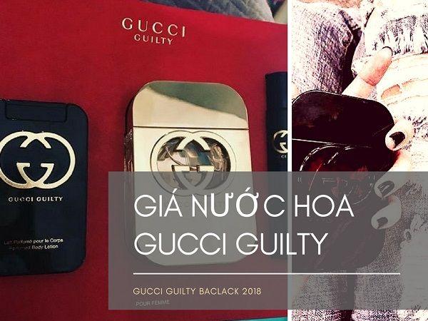 Giá Nước Hoa Gucci Guilty 75ml