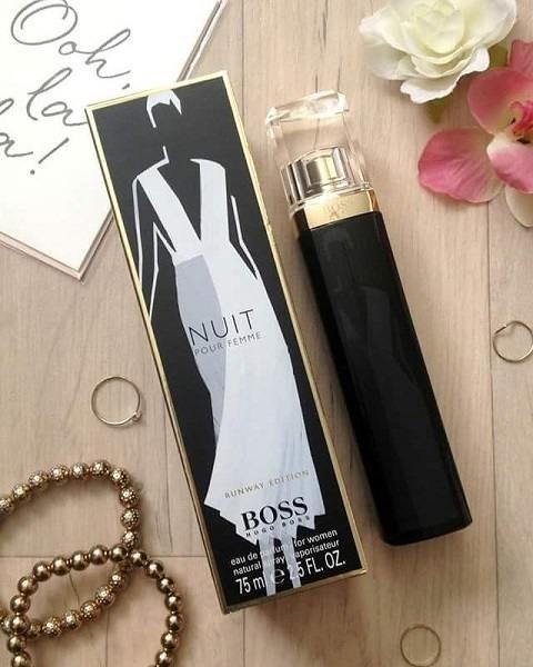 Mùi hương nước hoa Hugo Boss Nuit nữ 75ml