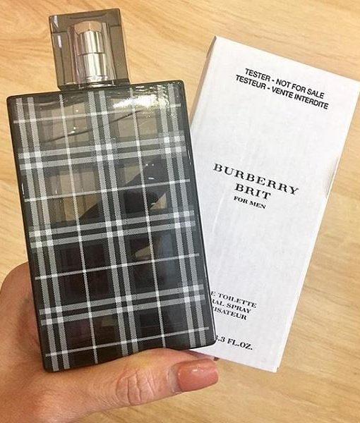 Nước hoa hương gỗ cho nam Burberry Brit