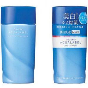Sữa dưỡng trắng da toàn thân Shiseido Aqualabel White Up Emulsion