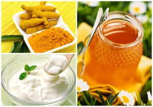 Cách làm trắng da toàn thân tự nhiên không bắt nắng với bột nghệ, sữa chua và mật ong