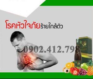 Enzim RD Fresh Plus hỗ trợ hệ tim mạch máu