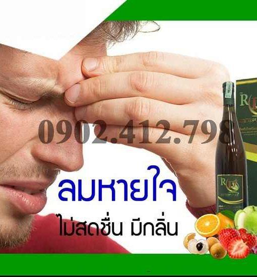 Enzim RD Fresh Plus Hỗ trợ giải rượu bia cho người nhậu nhiều