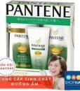 dầu gội chống rụng tóc kích thích mọc tóc pantene nhật màu xanh lá cây