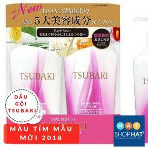 dầu gội kích thích mọc tóc tsubaki màu tím mẫu mới 2018.jpg