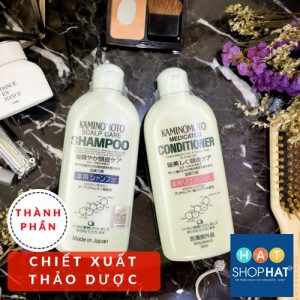 dầu gội kaminomoto medicated shampoo