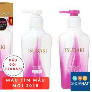 dầu gội ngăn rụng tóc tsubaki màu tím mẫu mới 2018.jpg