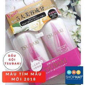 dầu gội trị rụng tóc tsubaki màu tím mẫu mới 2018.jpg