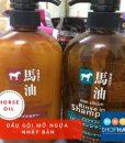 dầu gội xả horse oil mỡ ngựa nhật bản